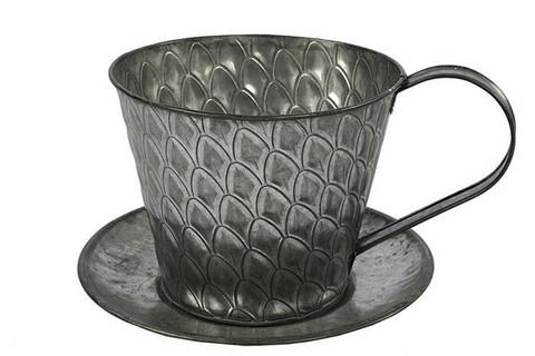 Istutusastia, kahvikuppi, Sannah, sinkki