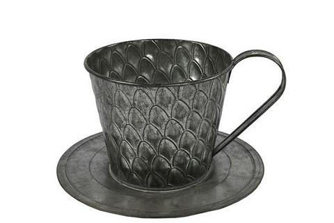 Istutusastia, kahvikuppi, Sannah, sinkki, koko M