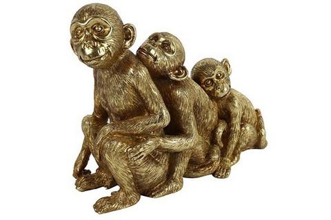 Apina perhe Holli, kulta