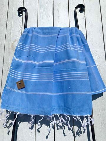 Hamam pyyhe COSY, sininen, 100x180cm