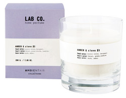 Ambientair tuoksukynttilä AMBER & CLOVE #2, LAB CO.