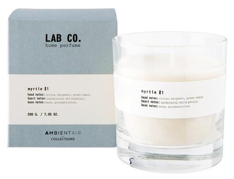 Ambientair tuoksukynttilä MYRTLE #1, LAB CO.