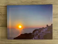 Led-taulu 30x40cm välimeren auringolasku (ajastin)
