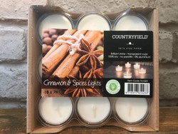 Tuoksu soijatuikku - Cinnamon & spices