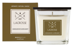 Ambientair tuoksukynttilä SANDALWOOD & BERGAMOT, LACROSSE