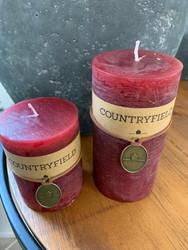Classic kynttilä, viininpunainen koko L