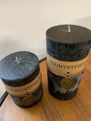 Classic kynttilä, musta koko M
