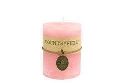Classic kynttilä, pinkki koko M