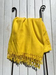 Hamam pyyhe PAUSE, keltainen, 100x180cm