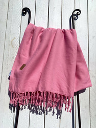 Hamam pyyhe PAUSE, vaaleanpunainen, 100x180cm