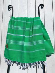 Hamam pyyhe COSY, vihreä, 100x180cm