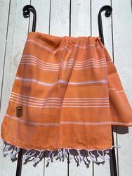 Hamam pyyhe COSY, oranssi, 100x180cm