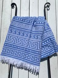 Hamam pyyhe BEACH, sininen, 90x170cm