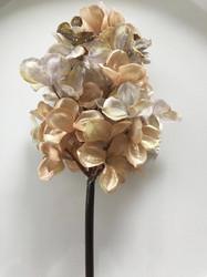 Hortensia, glitter beige
