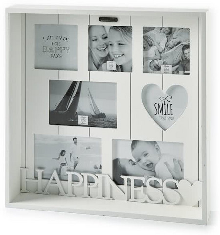 Happiness Multiple Photo Frame
