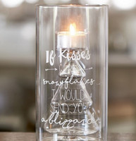 If Kisses... Tealight Holder