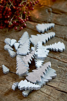 Christmas Trees Decoration silver