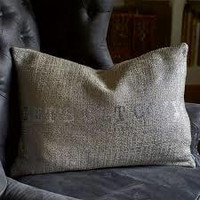 RM Let´s Get Cozy Pillow Cover silver 65x45
