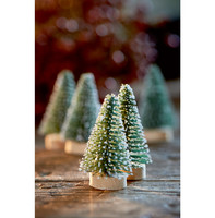 Merry Little Christmas Tree 5pcs