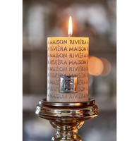 Riviera Maison Letter Candle silver 7x10