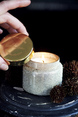 Sparkle Scented Candle Ibiza