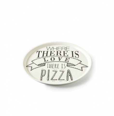 Love Pizza Plate