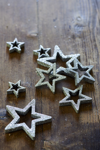 Winter Sparkle Stars 8 pcs