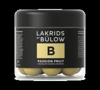 Lakrids By Bulow B - Passion Fruit suklaakuorrutteinen lakritsi 125 g