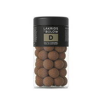 Lakrids By Bulow D - Salt & Caramel suklaakuorrutteinen lakritsi 295g
