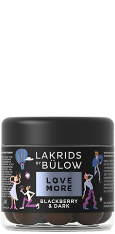 Lakrids By Bulow Blackberry & Dark 125 g