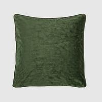 Tyynynpäällinen Velvet metsänvihreä
