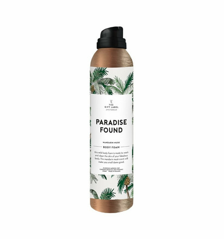 The Gift Label shower foam, paradise found