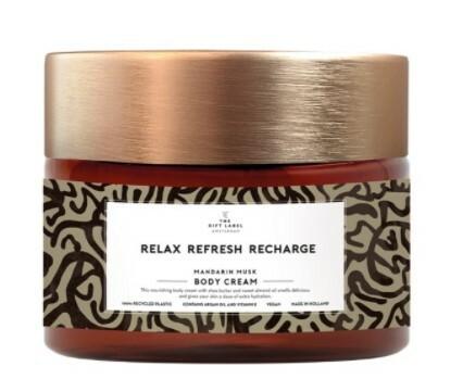 The Gift Label vartalovoide, Relax refresh recharge