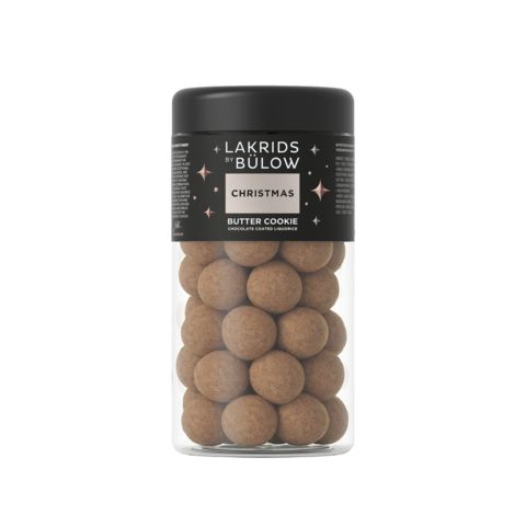 Lakrids By Bulow Christmas - Butter Cookie suklaakuorrutteinen lakritsi 295g