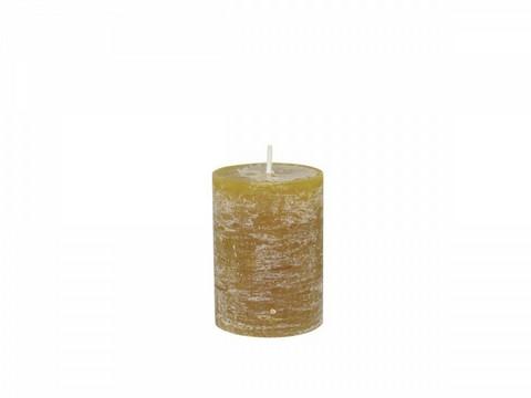 Kynttilä, sinappi 10cm