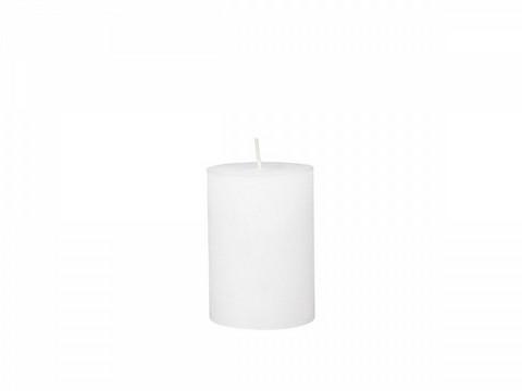 Kynttilä, valkoinen 10cm