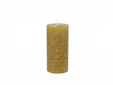 Kynttilä, sinappi 15 cm
