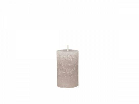 Kynttilä, taupe 15 cm