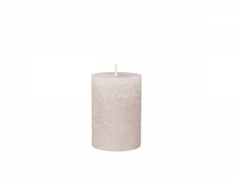 Kynttilä, utuinen roosa 15 cm