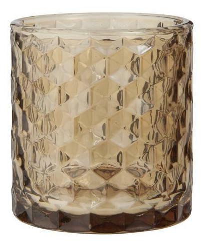 Tuikkukuppi, lasinen sinapinkeltainen