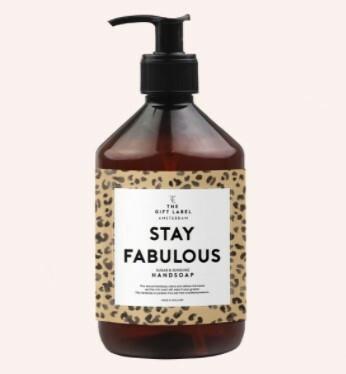 The Gift Label käsisaippua, stay fabulous