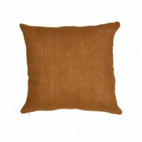 Tyynynpäällinen Linus, pellavaa, konjakki