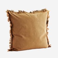 Tyynynpäällinen hapsuilla, manteli