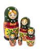 Iso venäläinen Starorusskaya-maatuskanukke (5 nukkea sisäkkäin)
