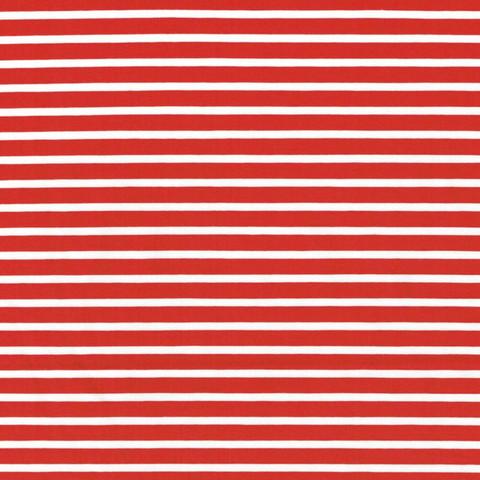 Puna-valkoinen raitatrikoo