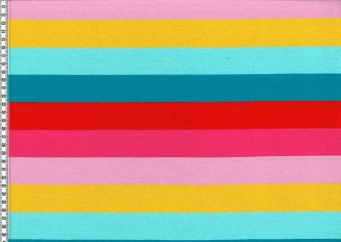 Värikäs sateenkaari raitatrikoo