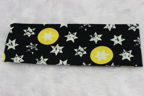 Hiuspanta, kelta-musta tähti