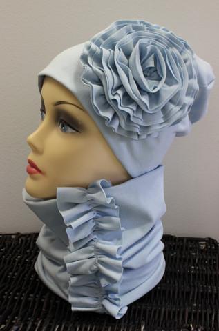 Vaaleansininen ruusukepipo