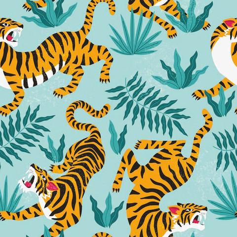 Kesä tiikeri trikoo