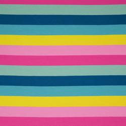 Pinkki-kelta-sininen raita, 3cm